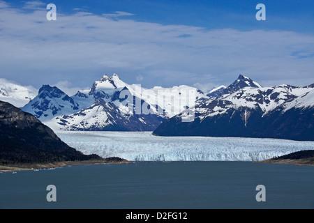Perito Moreno Gletscher, Nationalpark Los Glaciares, Patagonien, Argentinien - Stockfoto