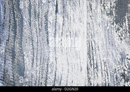 Strukturierten Hintergrund distressed rustikal Holz mit abblätternde Farbe Blau und weiß - Stockfoto