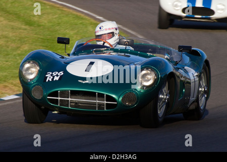 Aston Martin DBR1 gebaut für die Sportwagen-Weltmeisterschaft 1957 - Stockfoto