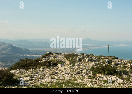 Blick vom Montgo von Javea, Alcante, Spanien - Stockfoto