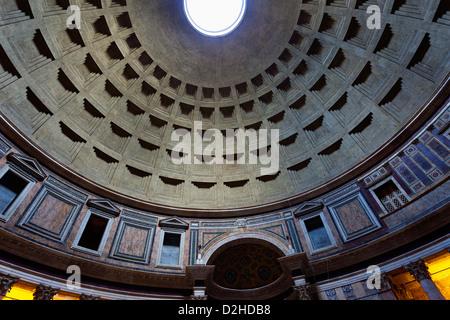 Pantheon der Agripa (Piazza della Rotonda, Rom) - Stockfoto