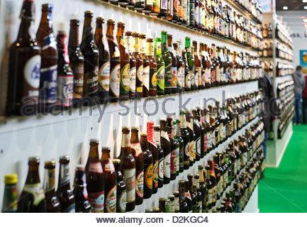 Bier-Wand - Stockfoto