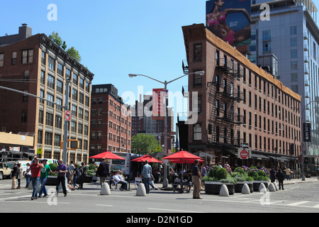Meatpacking District, downtown Szeneviertel, Manhattan, New York City, Vereinigte Staaten von Amerika, Nordamerika - Stockfoto