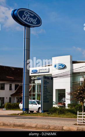 Ford-Showroom - Stockfoto