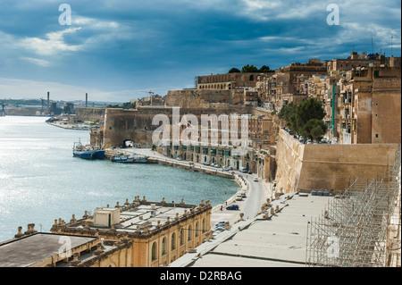 Valetta, UNESCO World Heritage Site, Malta, Mittelmeer, Europa - Stockfoto