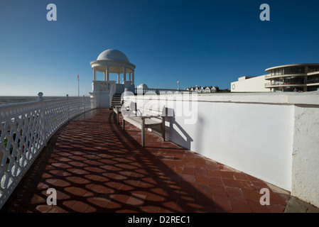 King George V Kolonnade des De La Warr Pavilion, Bexhill, East Sussex - Stockfoto