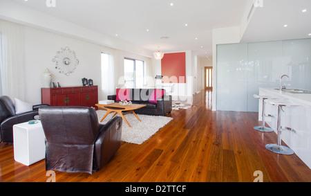 Attraktiv ... Modernes Wohnzimmer In Australischen Herrenhaus   Stockfoto