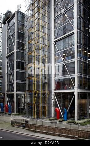 London Stadt Bürogebäude im Barbican - Stockfoto