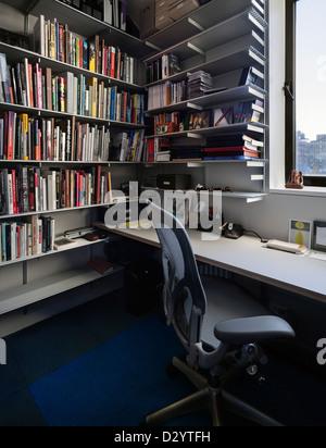 17. Street Apartment, New York City, USA. Architekt: IdS/R, 2012. Details der Studie. - Stockfoto