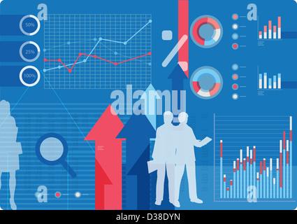Anschauliches Bild repräsentieren Geschäftskonzepte - Stockfoto
