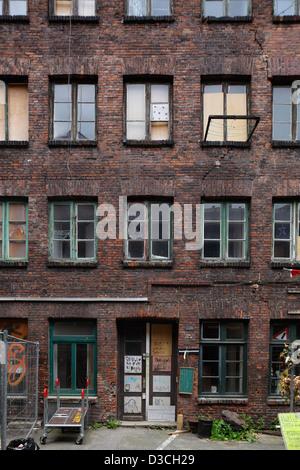 Hamburg, Deutschland, Gaengeviertel Valentinskamp in Hamburg-Neustadt - Stockfoto