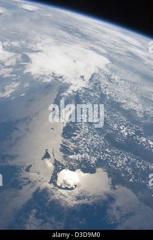 Küste von Massachusetts (NASA, internationale Raumstation, 27.06.11) - Stockfoto