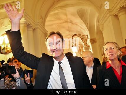 Der Amtsinhaber Und Gewinner Der Bürgermeisterwahl Burkhard Jung Und