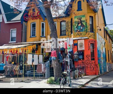 Ontario, Kanada; Toronto; Kensington Market; Outdoor Markt multikulturellen Markt - Stockfoto