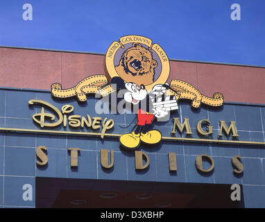 Walt Disney World Resort MGM Studios Eingang, Lake Buena Vista, Orange County, Orlando, Florida, Vereinigte Staaten - Stockfoto