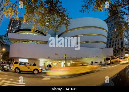 Solomon R Guggenheim Museum, New York - Stockfoto