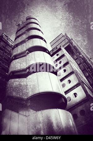 Bürohaus strukturiertem Hintergrund - Stockfoto