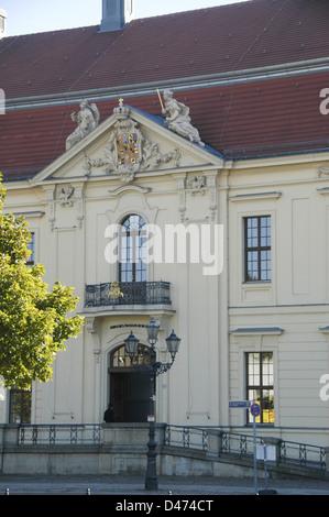 Deutschland, Berlin, Fassade des jüdischen Museums (eröffnet 1999) - Stockfoto