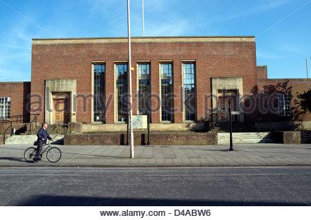 Chichester Crown Court, West Sussex, UK. - Stockfoto