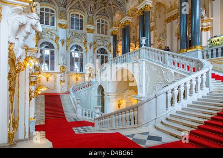 St. Petersburg, Eremitage - Stockfoto