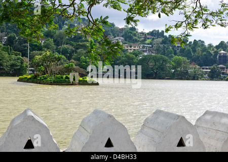 Kandy Lake, Kandy Sri Lanka - Stockfoto