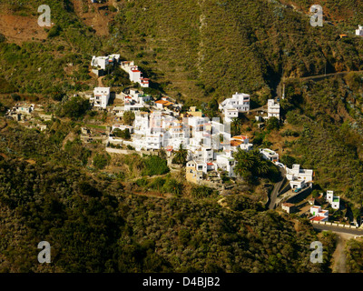 Dorf Taganana, Teneriffa, Kanarische Inseln, Spanien - Stockfoto