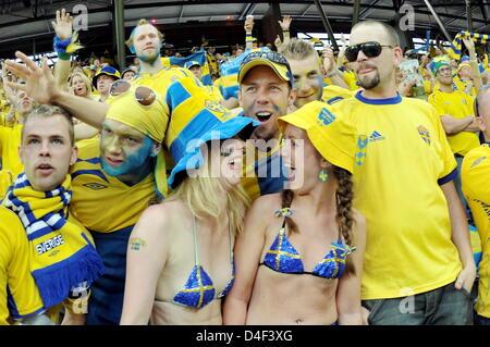 Schwedische Fans
