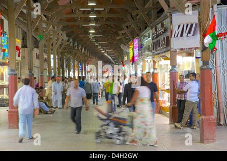Gold Souk, Dubai, Vereinigte Arabische Emirate, Naher Osten - Stockfoto