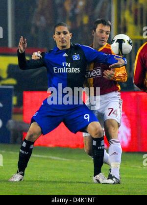 Jose Paolo Guerrero Hamburger Sv Emirates Stadion London