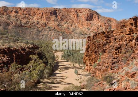 Trephina Gorge, East MacDonnells, NT, Australien - Stockfoto
