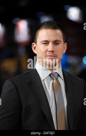 Channing Tatum besucht die GI JOE UK Premiere auf 18.03.2013 in The Empire Leicester Square, London. Personen im - Stockfoto