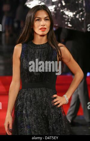 London, UK. 18. März 2013. Elodie Yung besucht die UK-Premiere von G.I. Joe: Vergeltung 3D im Londoner Empire in - Stockfoto