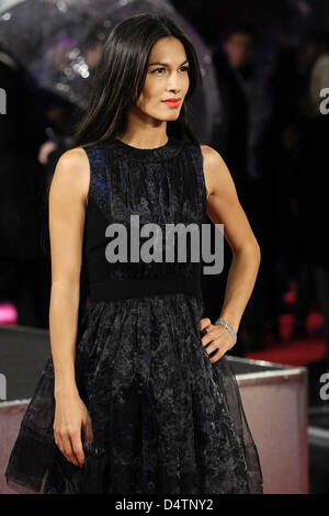 Elodie Yung besucht die GI JOE UK Premiere auf 18.03.2013 in The Empire Leicester Square, London. Personen im Bild: - Stockfoto