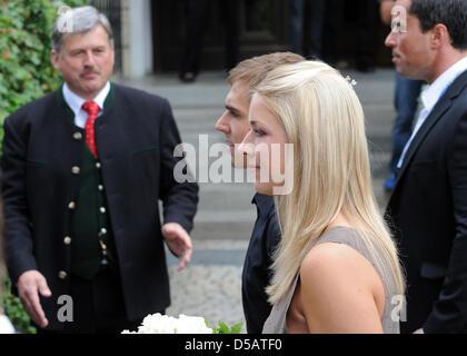 Deutschland Internationale Philipp Lahm Und Seine Frau Claudia