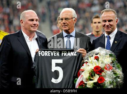 Deutsche Fussball Ikone Und Zum Prasidenten Des Fc Bayern