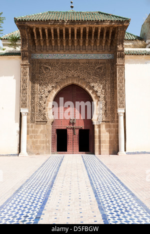 Moulay Ismail Mausoleum, Meknès, Marokko