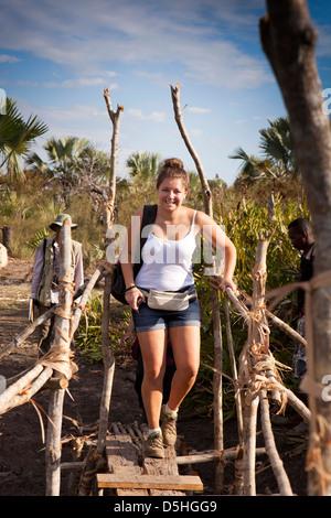 Madagaskar, Betrieb Wallacea, Student Internat Mariarano Forschung Flussschiff Stockfoto