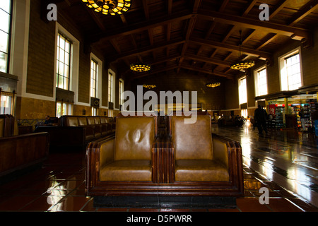 Innenraum des Grand Union Station, La. - Stockfoto