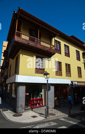 Calle de Arzt Ingram street Puerto De La Cruz Stadt Teneriffa Insel der Kanarischen Inseln-Spanien-Europa - Stockfoto