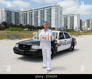 John Walsh AMG Beach Polo Event Miami Beach, Florida - 22.04.11 - Stockfoto