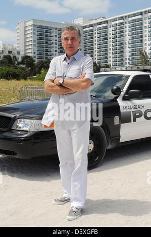 John Walsh AMG Beach Polo Event Miami Beach, Florida - 22.04.11 - Stockfoto