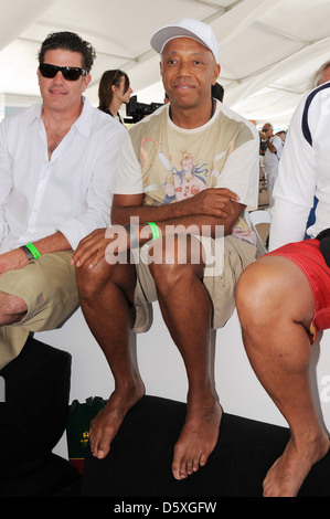 Russell Simmons AMG Beach Polo Event Miami Beach, Florida - 22.04.11 - Stockfoto