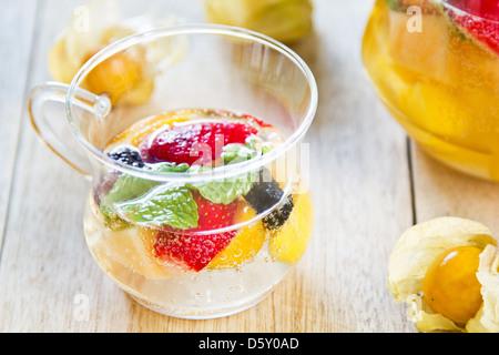 Früchte-sangria - Stockfoto