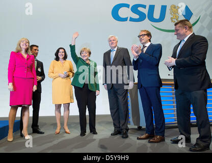 dorothee baer stellvertretender csu generalsekret r und horst seehofer ministerpr sident. Black Bedroom Furniture Sets. Home Design Ideas