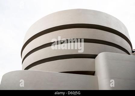 Solomon R. Guggenheim Museum, Upper East Side, Manhattan, New York, USA, PublicGround - Stockfoto
