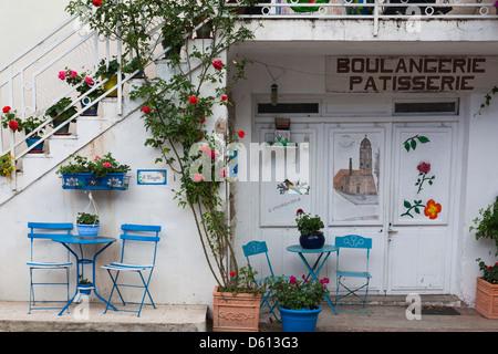 Frankreich, Korsika, Fiumorbo, Prunelli di Fiumorbo, Hof-detail - Stockfoto