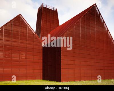 Den Haag-Geothermie-Station, den Haag, Niederlande. Architekt: Jan Splinter, 2012. - Stockfoto