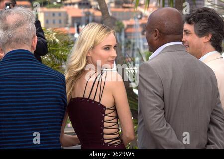Schauspielerin und Jury-Mitglied Diane Kruger besucht die Jury Photocall Fototermin der 65. Filmfestspiele von Cannes - Stockfoto