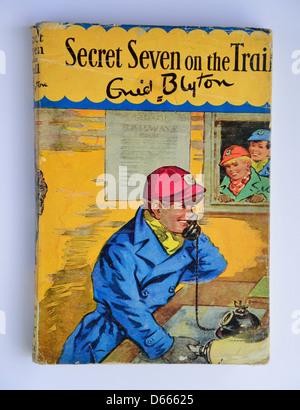 """Enid Blytons """"geheimen sieben auf der Spur"""" geheimen sieben Buch, Ascot, Windsor, Berkshire, England, Vereinigtes - Stockfoto"""
