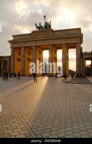 Berlin, Brandenburger Tor - Stockfoto